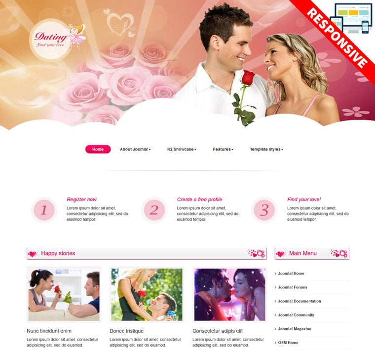 Joomla dating hippie dating sites